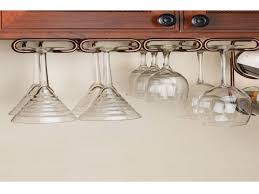 under cabinet wine glass rack. Attractive Wine Glass Her Cabinet Rack Emergency Interiordesign Under Counter