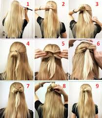 Hairstyle Easy Step By Step 10 quick and easy hairstyles stepbystep doodles hair style 5528 by stevesalt.us