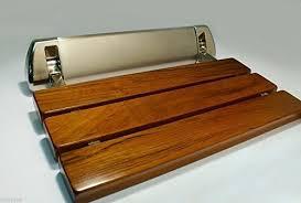lada ld3 folding wall mount fold up teak wood shower bench best folding