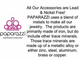 what s paparazzi jewelry made of