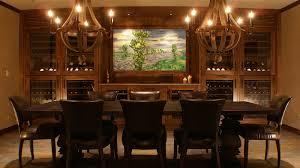 wine room lighting. Moe And Mar Alkemade\u0027s 1,200-bottle Wine Cellar Features LED Lighting,  Black Walnut Cabinets Room Lighting
