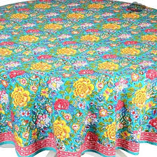 turquoise round tablecloth round turquoise cotton tablecloth by cotton i dream of turquoise tablecloth turquoise round tablecloth