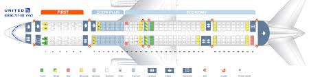Seat Map Boeing 757 300 United Airlines Best Seats In Plane