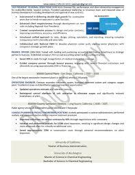 sample healthcare executive resume