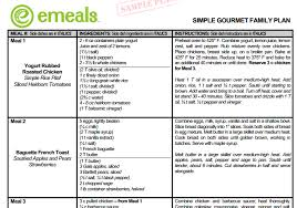 emeals makes my meal planning easier