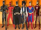 Костюм супергероями