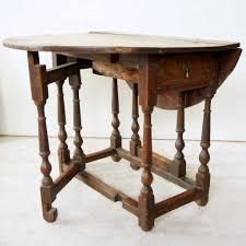 Antique English Georgian Oak Drop Leaf Gateleg Table
