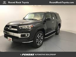 2018 New Toyota 4Runner Limited 2WD at Round Rock Toyota Serving ...