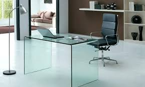 office desk glass. Office Desk Glass Clear Tempered Small Home B