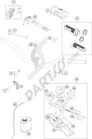 Controls ktm 350 sx f 2016 eu ktm motorcycle350 sx f handlebar controls 1000 pid374289html