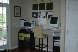 homcom floating wall mount office computer desk. Built In Desk Design Ideas White Hanging Office Brown Wooden Stained Cabinet Chair With Light Dot Pattern Cushion Walls Furniture Good Wall Mounted Home Homcom Floating Mount Computer