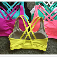 Mermaid Curve <b>Sexy Back</b> Cross Shockproof Sports Bras Women ...
