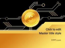 Free Money Ppt Templates Free Money Bitcoin Powerpoint Template Free Powerpoint Templates