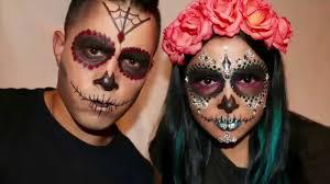 sugar skull makeup for men tutorial