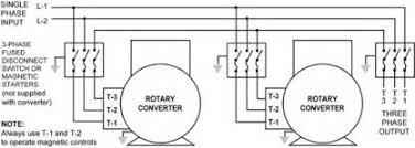 3 wire 220v diagram images ac 220v outlet wiring 240 single phase 220v rotary phase converter multiple unit application