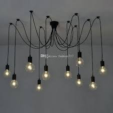 light vintage spider pendant lamp multiple adjule retro lights loft classic decorative fixture lighting led