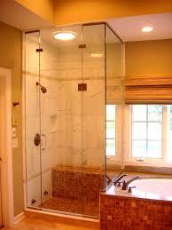 Bathroom Outstanding Bathroom Interior Design Using Gray Glass