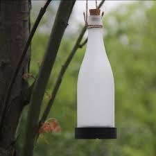 Wine Bottle Light Fixture Amazoncom 5pcs Plastic Led Solar Bottle Lights Wine Bottle