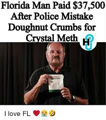 Doughnut After Man Florida Mistake Paid For Crumbs Police 37500 twYgp