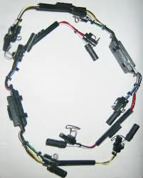 94 97 ford 7 3l powerstroke diesel injector harness f4tz9d930k 7.3 injector harness replacement at 7 3 Powerstroke Injector Wiring Harness