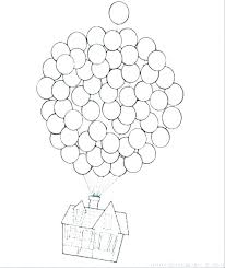 Birthday Balloons Coloring Pages Flower Grower Com