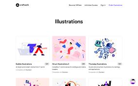 Craftwork Design 10 Best Illustrations Websites Lia Billaudel Medium