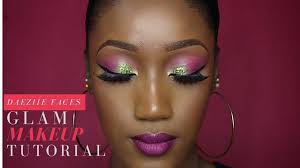 full face makeup glam wedding guest bridal nigerian tutorial all s