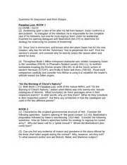 paradise lost essay questions  paradise lost essay questions