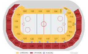 Compton Family Ice Arena Seating Chart Amsoil Arena Seating Chart