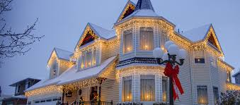 Outside Christmas Lights Outdoor Christmas Lights Ideas For The Roof
