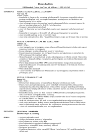 mutual fund accounting mutual fund accountant resume samples velvet jobs