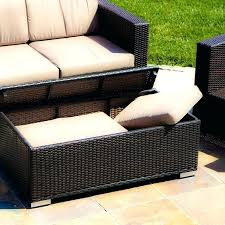 small outdoor ottoman outdoor pouf ottoman outdoor chair with ottoman wicker footstool leather storage small