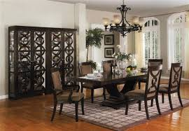 complete dining room sets. Plain Complete Serendipity Complete Dining Set Curio Included In Espresso Finish By Crown  Mark  2030C For Room Sets