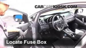 blown fuse check 2007 2012 mazda cx 7 2011 mazda cx 7 sport 2 5l interior fuse box location 2007 2012 mazda cx 7