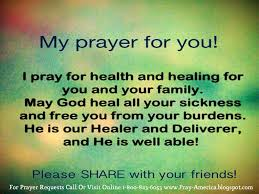 Healing Prayers Quotes Best Prayer For Healing Bing Images