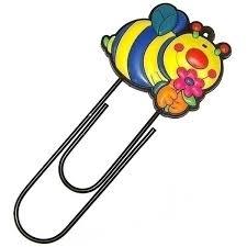 <b>Закладка</b> - <b>скрепка</b> 12 см <b>Пчела</b>