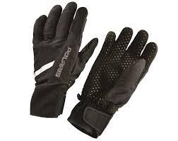 Unisex Level 1 Lightweight Mountain Glove With Adjustable Wrist Straps Black