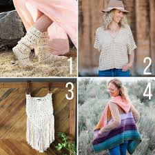 Lion Brand Free Crochet Patterns Best Freebohocrochetpatternslionbrandyarn Make Do Crew