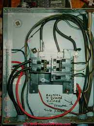electric system neutral wire loss leads to shocked homeowner loss of the neutral connection in a sub panel led to a dangerous electrical shock