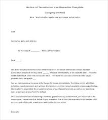 contract letter contract termination letter template 17 free sample example