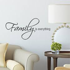 Wall Quotes Extraordinary Belvedere Designs LLC Family Is Everything Wall Quotes™ Decal