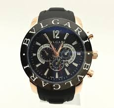 mens watches black and gold bvlgari watch for men thewatchplace net home>men s watches >black and gold bvlgari watch for men
