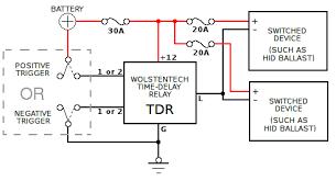 automotive time delay relay installation instructions Time Delay Relay Wiring Diagram time delay relay connections dayton time delay relay wiring diagram
