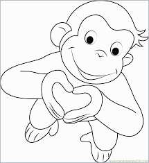 curious george coloring book great curious george coloring pages best coloring pages for kids