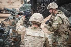 Us Army Cavalry Dozens Of Combat Badges Awarded During Army Units Advisory