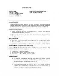 Objective In Resume For Marketing Marketing Objectives For Resume Templates Professionals Career 14
