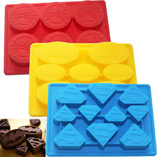 Decorative Ice Cube Trays 100pcslot Baking decorating Spiderman Superman Batman Tray Ice Cube 57