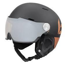 Bolle Might Visor Premium Ski Snowboard Helmet M Matte Black Gold