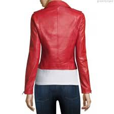 lamarque donna leather biker jacket womens faux leather jackets 0400093755667