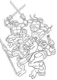 Small Picture Ninja Turtles Coloring Pages Awesome Teenage Mutant Ninja Turtles